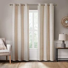 Farmhouse Curtains, Rustic Curtains, Modern Curtains, Country Curtains, Window Treatments Living Room, Curtains Living, Net Curtains, Bedroom Windows, Living Room Pictures