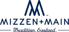 Mizzen+Main is a purveyor of performance menswear - classic style in a moisture-wicking, wrinkle-free fabric. Because clothes should feel good and look great. Logo Inspiration, Feel Good, Maine, Menswear, Logos, Fabric, Shop, Tejido, Tela