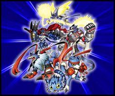 #Digimon Savers, Gaomon, Gaogamon, MachGaogamon, MirageGaogamon, BM