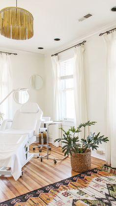 Esthetician Treatment Room Decor