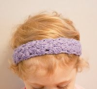 CraftsbyKeri: Free Toddler Crochet Bobble Headband Pattern