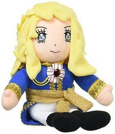 The Rose of Versailles Oscar Plush JAPAN doll Stuffed Animal Toy JAPAN
