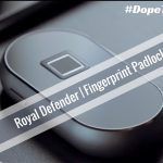 Combination and Key Padlocks are a thing of the past! Check out our overview of the Royal Defender! Royal Defender is a smart padlock that is controlled by your fingerprint like today's iOS and Android devices. It is definitely #DopeTech Approved! Check it out!  #RoyalDefender #smartpadlock #padlock #smarttech #fingerprint #securitytech #touchID #techdaddy #tech #cooltech #fingerprintlock
