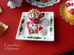 A Plate For Santa from Paris Miniatures