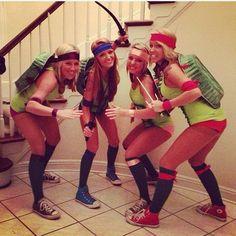 Friends dress up idea: Teenage Mutant Ninja Turtles