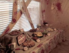 "Zombie Halloween Birthday / Birthday ""Zombie Apocalypse End of The World"" 