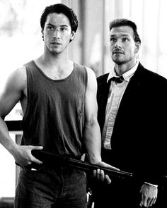 Keanu Reeves and Patrick Swayze | Point Break | 1991