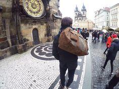 Prague 🇨🇿 www.kjoreproject.com/bags #kjøre #bags #canvas #heavy #leather #friends #around #trip #journey #prague #praha #vintage #heritage #city #kjoreproject #photo #instagram #handmade #wallets #accessories #vibram #shoes #premium #newzealand #natural #leather #love #minimal #design @kjoreproject
