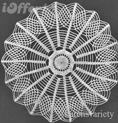 Vintage Doily Patterns here...