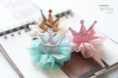 Handmade baby/toddler pinkgoldsilver princess tutu by Mintscloset, $9.75