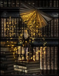 Books have a way to make us feel safe; there is magic and escape in words…