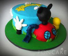 Mickey Mouse Clubhouse Cake - Torta de Club de Mickey Mouse