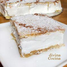 Esta receta de milhojas la hemos preparado con merengue italiano. La textura es muy consistente y el resultado, más que delicioso.