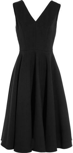 Dolce & Gabbana Wool-Blend Gabardine Dress