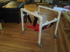 Sophia's crawler made with PVC