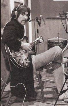 George on guitar