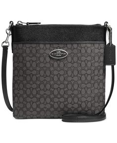COACH NORTH/SOUTH SWINGPACK IN SIGNATURE FABRIC whould love this in the Light Gold/Light Khaki/Chalk