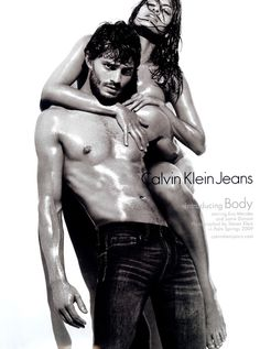 Jamie Dornan For Calvin Klein Jeans. How could I not love Calvin Klein campaigns?