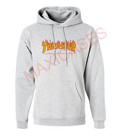 Thrasher magazine logo Hoodie Unisex Adult size S – 2XL
