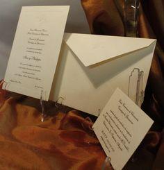 Classic wedding invitations / Invitaciones de Boda Clásicas / Costa Rica / ventas@grabadosenacero.com