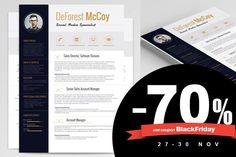 70% OFF on all items! #BlackFriday #ResumeWriting #Resumes #Sale http://rockstarcv.com/promo/black-friday/