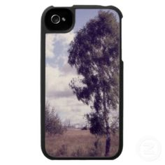 Lavender Dusk, Rural Nature Case For The iPhone 4