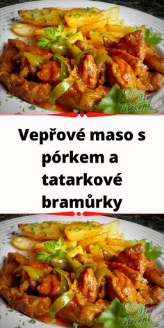 Czech Recipes, Ethnic Recipes, Remoulade, Curry, Pork, Food And Drink, Cooking Recipes, Beef, Chicken