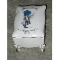 An adorable Holly Hobbie trinket box!