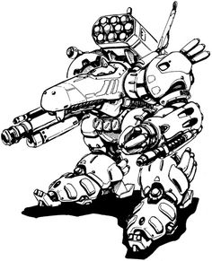 """Mecha & more.."" 