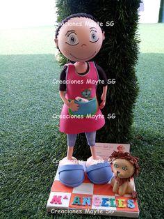 Creaciones Mayte SG: Fofucha Profesora de Infantil