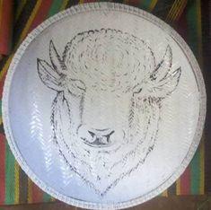 Animal Wall  Art baskets  /1 large ungo basket Bowl / Woven Bowl / African baskets/ Wall basket / bohemian home / Home Decor ,Christmas