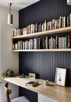 Looking some home office remodel ideas? Creating a comfy home office is a must. Check out our home office ideas here and get inspired Office Nook, Home Office Space, Home Office Design, Home Office Decor, House Design, Home Decor, Office Ideas, Office Shelf, Study Office