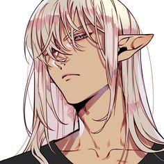 Manga Anime, Anime Elf, Anime Demon, Manga Boy, Hot Anime Boy, I Love Anime, Anime Boys, Fantasy Characters, Anime Characters