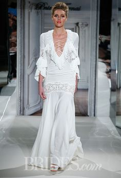 PNINA TORNAI- I can see this in a Bohemian wedding..The dress is phenomenal..