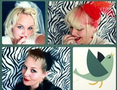 Fascinator Hat Tutorial -lots of steps w/hopt glue, but would be cool with big girls