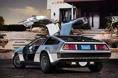 electric delorian....Oh yeah back to the future baby