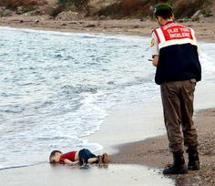 If these extraordinarily powerful images of a dead Syrian child washed up on a beach don't change Europe's attitude to refugees, what will? The boy was part of a group of 11 Syrians who drowned off the coastal town of Bodrum in Turkey after an apparent failed attempt to flee the war ravaged country