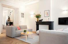 Ontwerp en inrichting kamer ensuite van een herenhuis | Interieur design by nicole & fleur