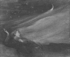 Print of The Contemplator, Creator: Eugène Carrière (French, Victor Hugo Poems, Cleveland Museum Of Art, Fine Art Prints, Canvas Prints, European Paintings, Old Art, Heritage Image, Portrait, Illustration Art
