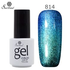 3D Glitter Chameleonic UV LED Gel Nail Polish Long Lasting Esmalte Shining