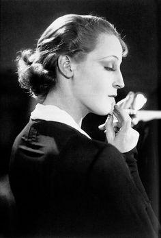 Brigitte Helm in Abwege (G. W. Pabst), 1928.