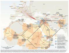 El mapa de la internacional yihadista. @elOrdenMundial