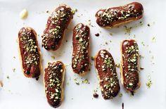 Chocolate Pistachio Éclairs Recipes