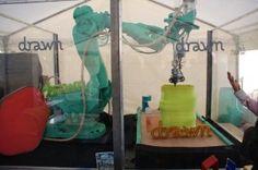 Galatéa-en-action imprimante 3D grande taille