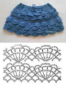 De los niños de la falda de crochet - funciona Yaroslavl - Crochet en kru4ok.ru