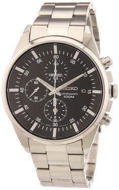 Seiko Quarz Herren-Armbanduhr Chronograph SNDC81P1