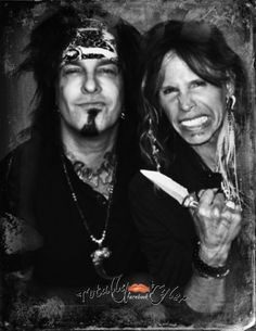 "ITZZ ""TRIP HOPPIN' THURSDAY ON FACEBOOK/TOTALLY @IamStevenT TYLER AND HIS FRIEND @SLASH"
