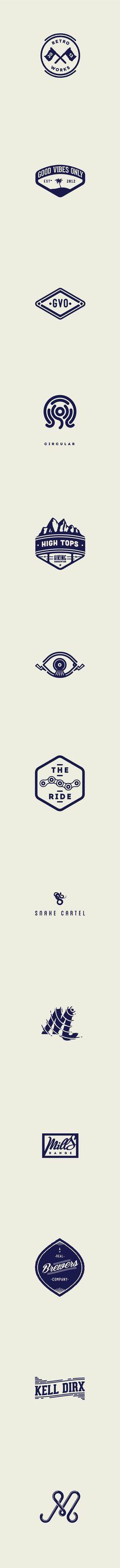 Retro Logo Design Trends 2016
