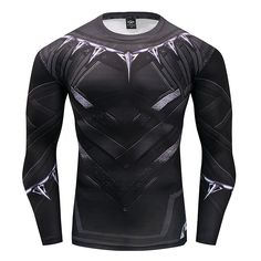 2017 Hot Fitness MMA Compression Shirt Men Anime Bodybuilding Long Sleeve Crossfit 3D Black panther Punisher T Shirt Tops Tees. Yesterday's price: US $11.88 (9.83 EUR). Today's price: US $4.51 (3.73 EUR). Discount: 62%.