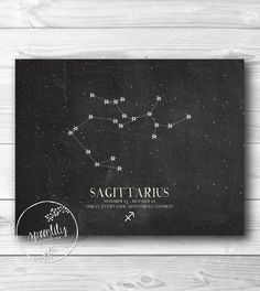 Hey, I found this really awesome Etsy listing at https://www.etsy.com/listing/161513531/sagittarius-constellation-zodiac-print